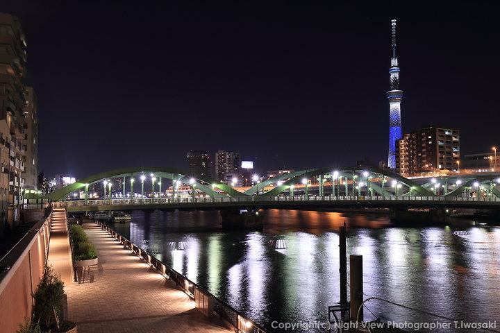 東京スカイツリーのライティング観賞スポット
