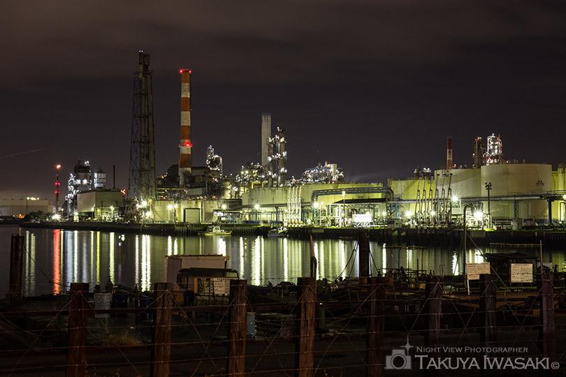 東亜石油の製油プラント