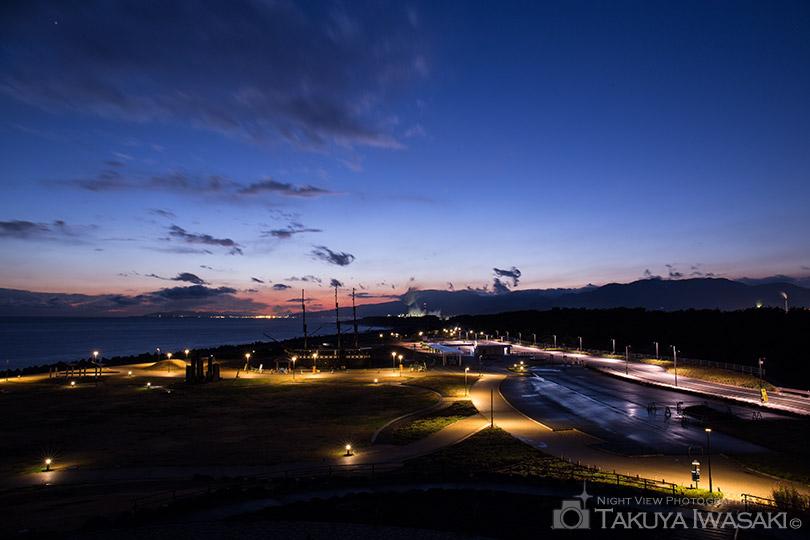 田子の浦からの夕景