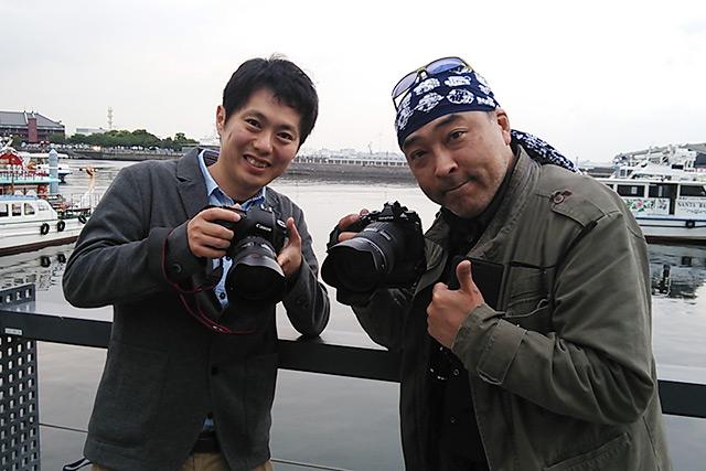 光景写真家・薮田さんとのツーショット