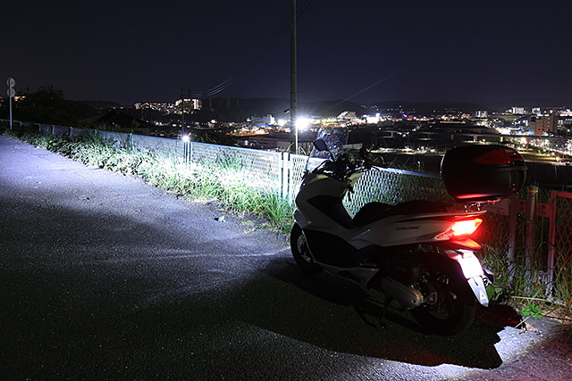 バイクで夜景撮影巡りをするメリット