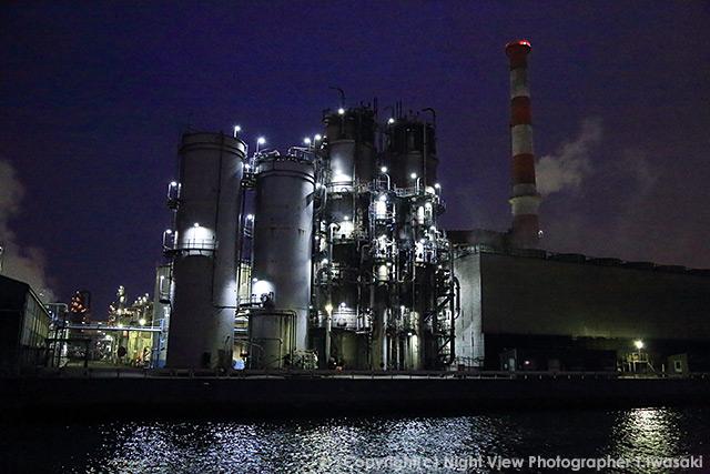 川崎工場夜景の作例
