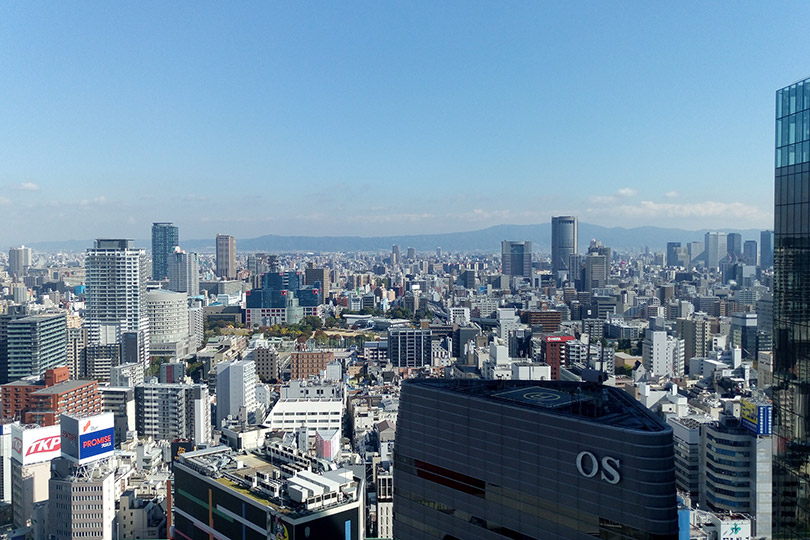 阪急グランドビルからの眺望