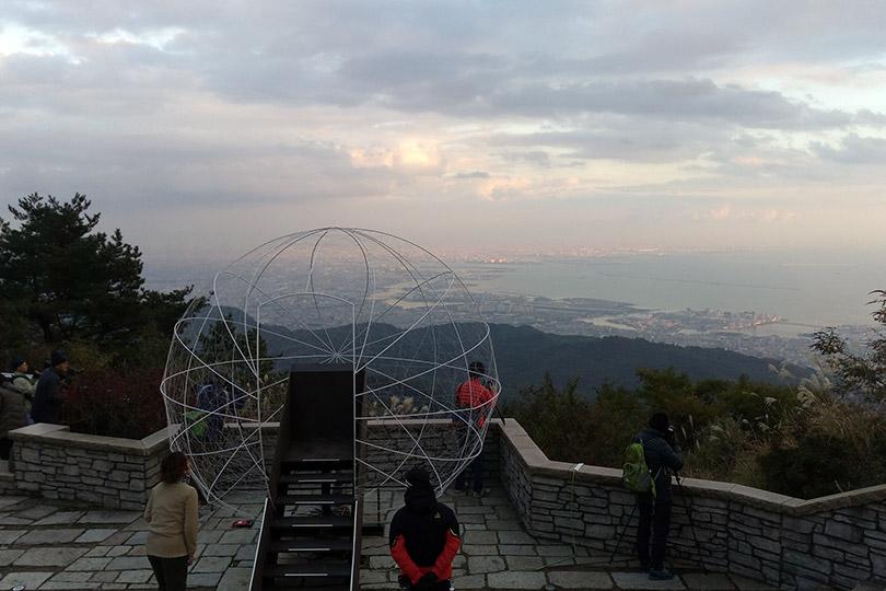 六甲ガーデンテラスからの風景
