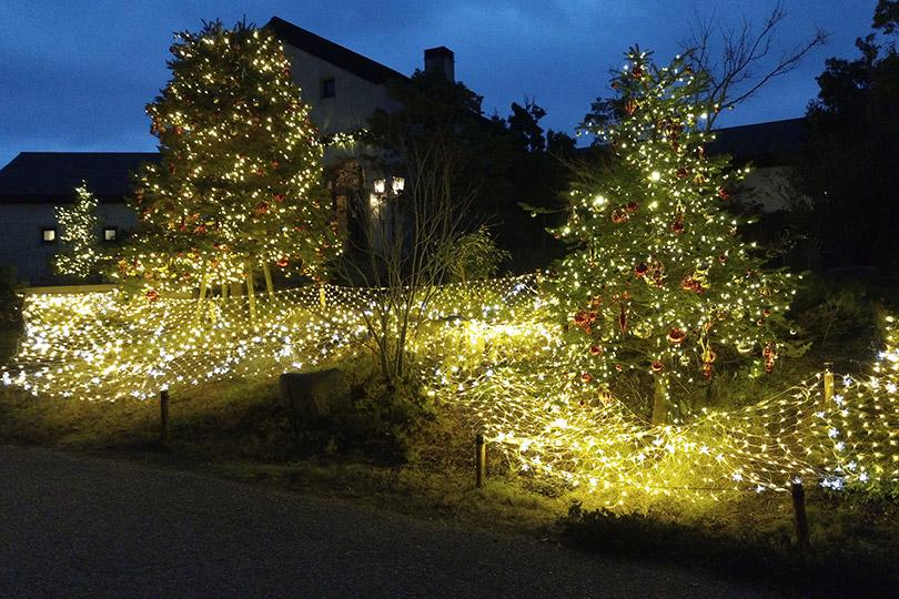 六甲ガーデンテラスのクリスマスイルミネーション