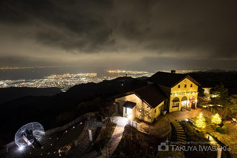 見晴らしの塔からの夜景