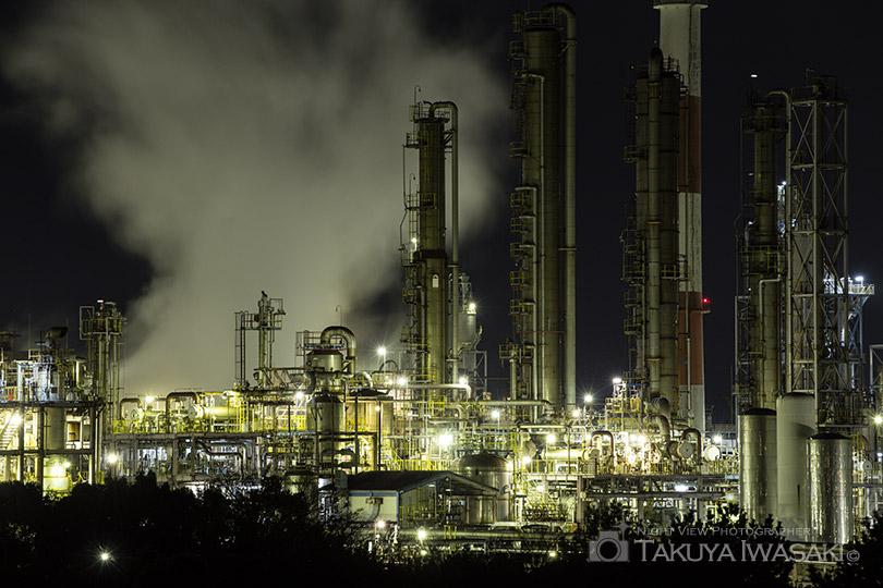 姫路工場夜景(網干なぎさ公園)