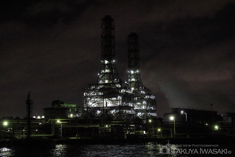 扇町の天然ガス発電所