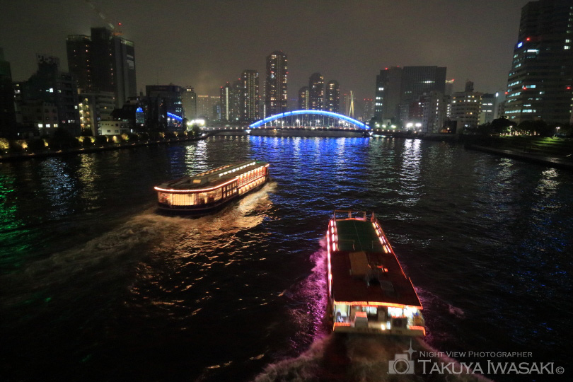 隅田川・光跡夜景撮影ツアー開催レポート【2017/10/14(土)】