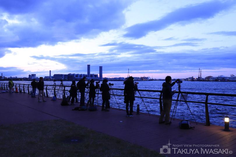 東扇島東公園の雰囲気