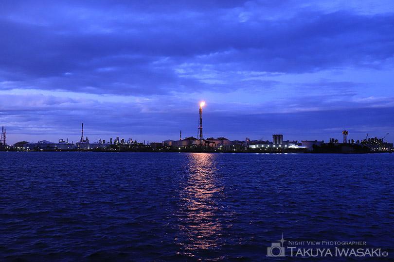 東扇島東公園からの夜景