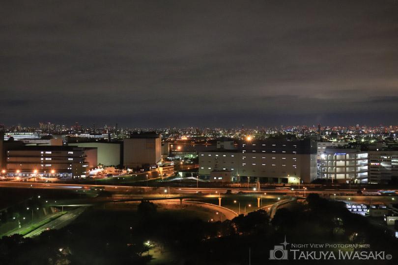 川崎マリエンからの夜景