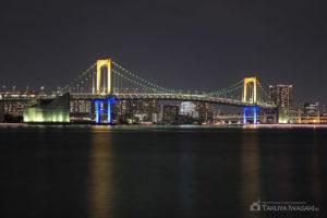 東京ベイエリア・レインボーブリッジ