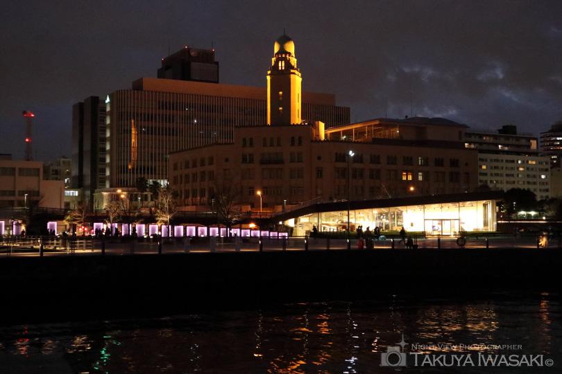 ライトアップされなかった横浜税関